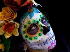 Deluxe Day of the Dead Make-up Kit