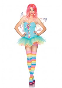 rainbow/rave fairy