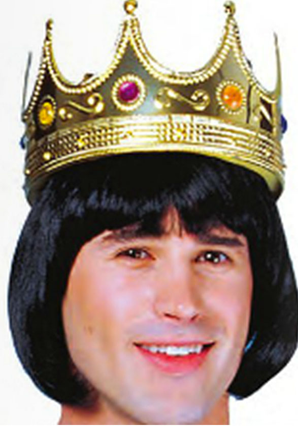 Plastic King's Crown
