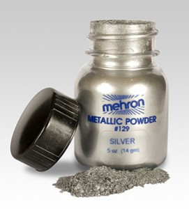Mehron metallic powder make-up