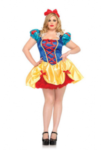 Plus Size Fairy Tale Snow White