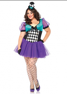 Plus-size Miss Mad Hatter