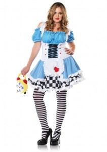 Plus-sized Miss Wonderland