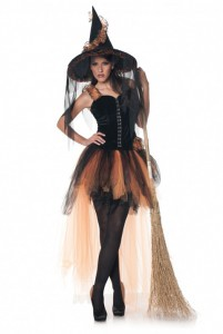Velvet Bustier Top, Tutu with Attached Train, Tattered Ribbon Hat