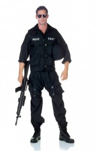 Man's SWAT uniform