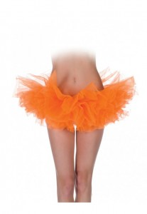 Solid color tutu