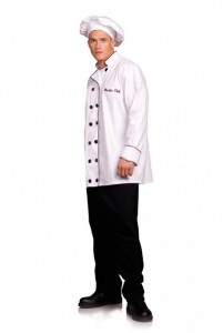 Master Chef coat and chef hat
