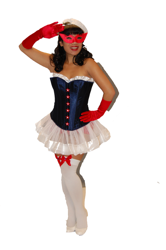 Pin-up sailor
