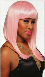 Pink Rapalious wig