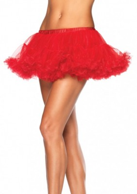 Red petticoat comes with our nurse costume!